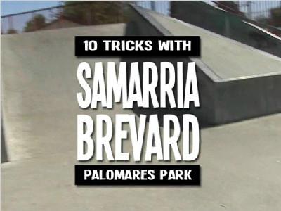 【板女动态】Samarria Brevard加州波莫纳10招