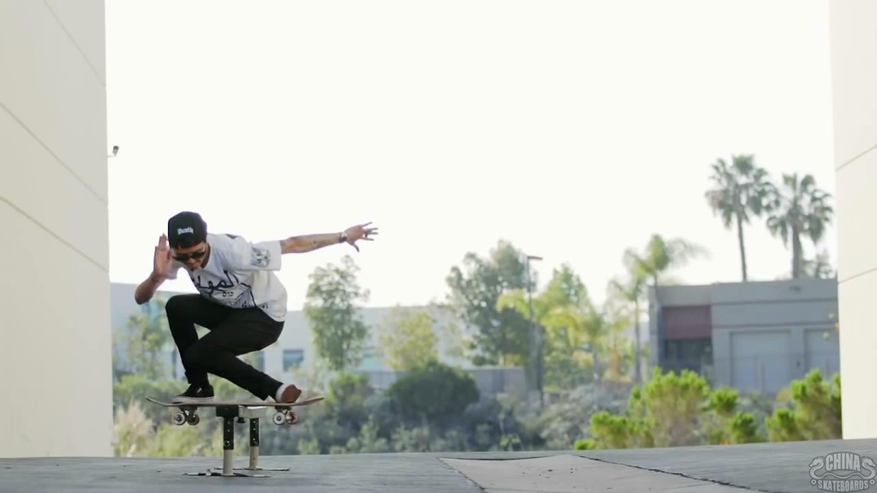 滑板 动作 教学 Spencer Nuzzi Boardslide
