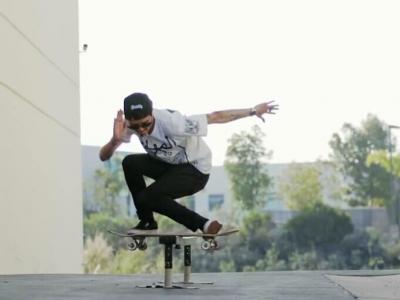 【滑板动作教学】Boardslide——Spencer Nuzzi