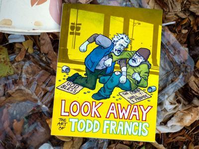 【滑板文艺】Todd Francis新书『Look Away』