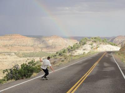 【盘问】踩着滑板旅行700英里的 Clay Shank