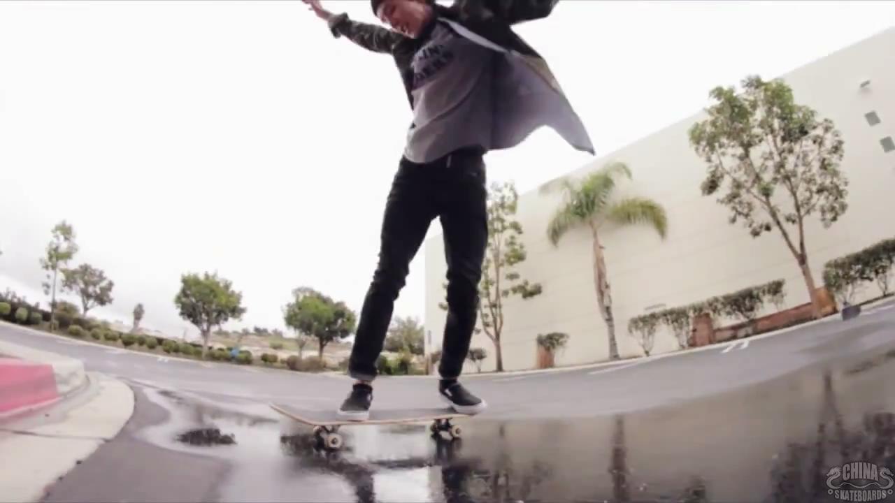 滑板 动作 教学 Spencer Nuzzi Powerslides