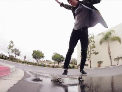 【滑板动作教学】Powerslides——Spencer Nuzzi