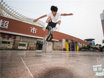 【城市滑报】Station X 天津Persist滑板店合作赞助滑手刘玥