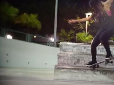 【板女档案】Skate for Myself 第二期:Wandy–Krooked grind
