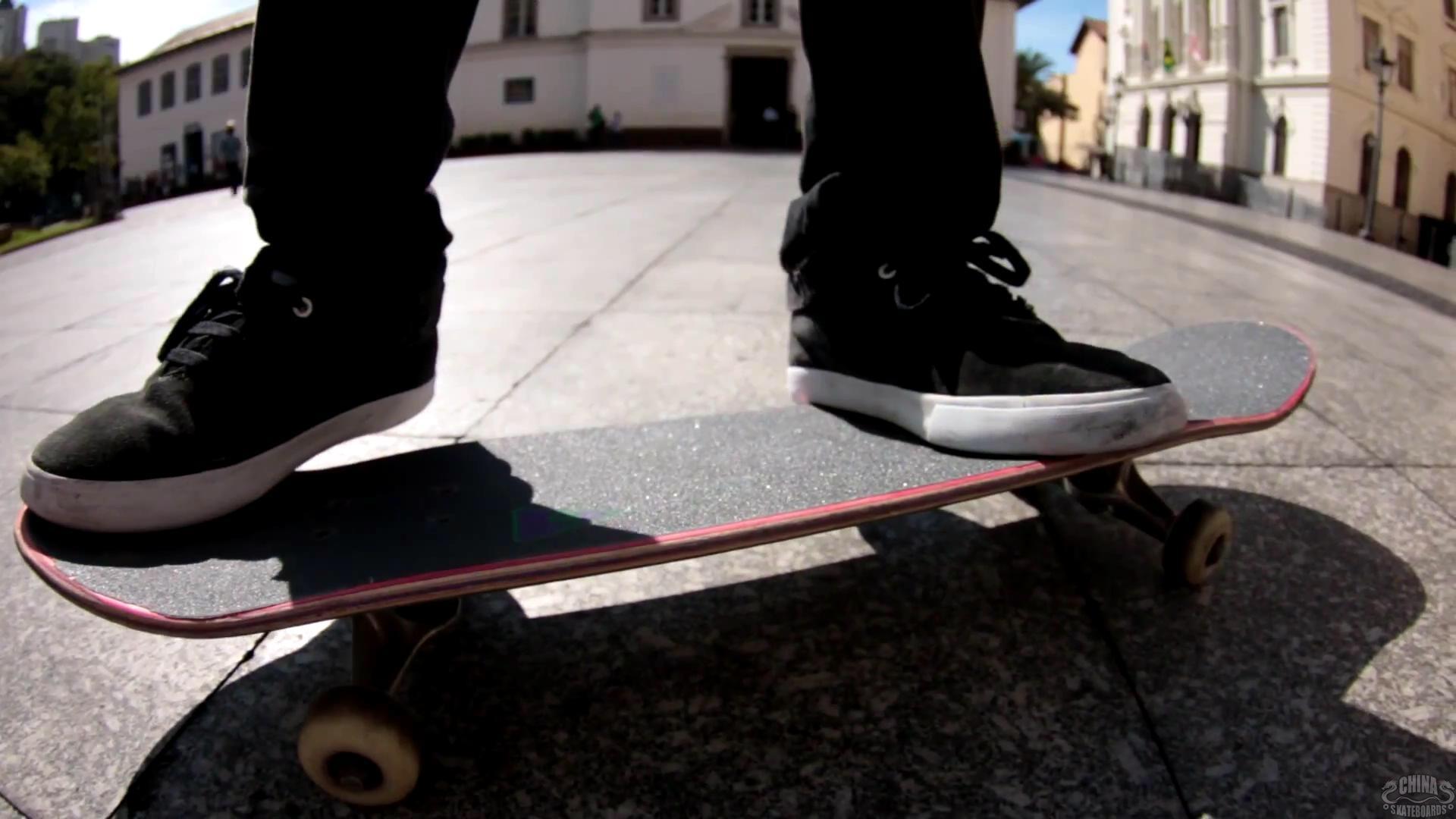 动作 滑板 教学 Frontside Pop Shove It
