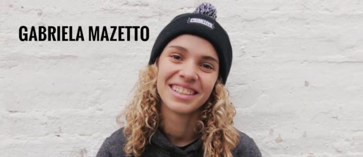 【板女动态】Gabriella Mazetto最新街式视频