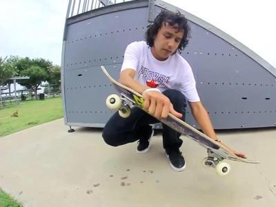 【滑板动作教学】Nollie Flip
