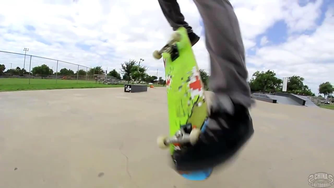 动作 滑板 教学 Frontside Flip Diego cepeda