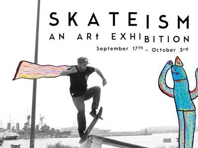 【滑板文艺】滑板主义「SKATEISM」,一个滑板文化的艺术展