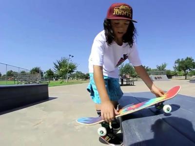 【滑板动作教学】Boardslide