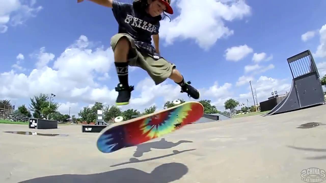 动作 滑板 教学 Jp Garcia Kickflip