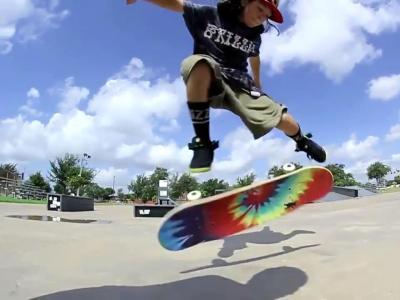 【滑板动作教学】Kickflip Jp Garcia