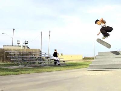 【滑板动作教学】360 Flip -- Rick Molina
