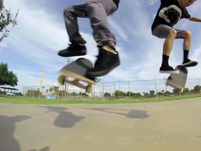 【滑板动作教学】180 Late Flip -- Mikey Whitehouse