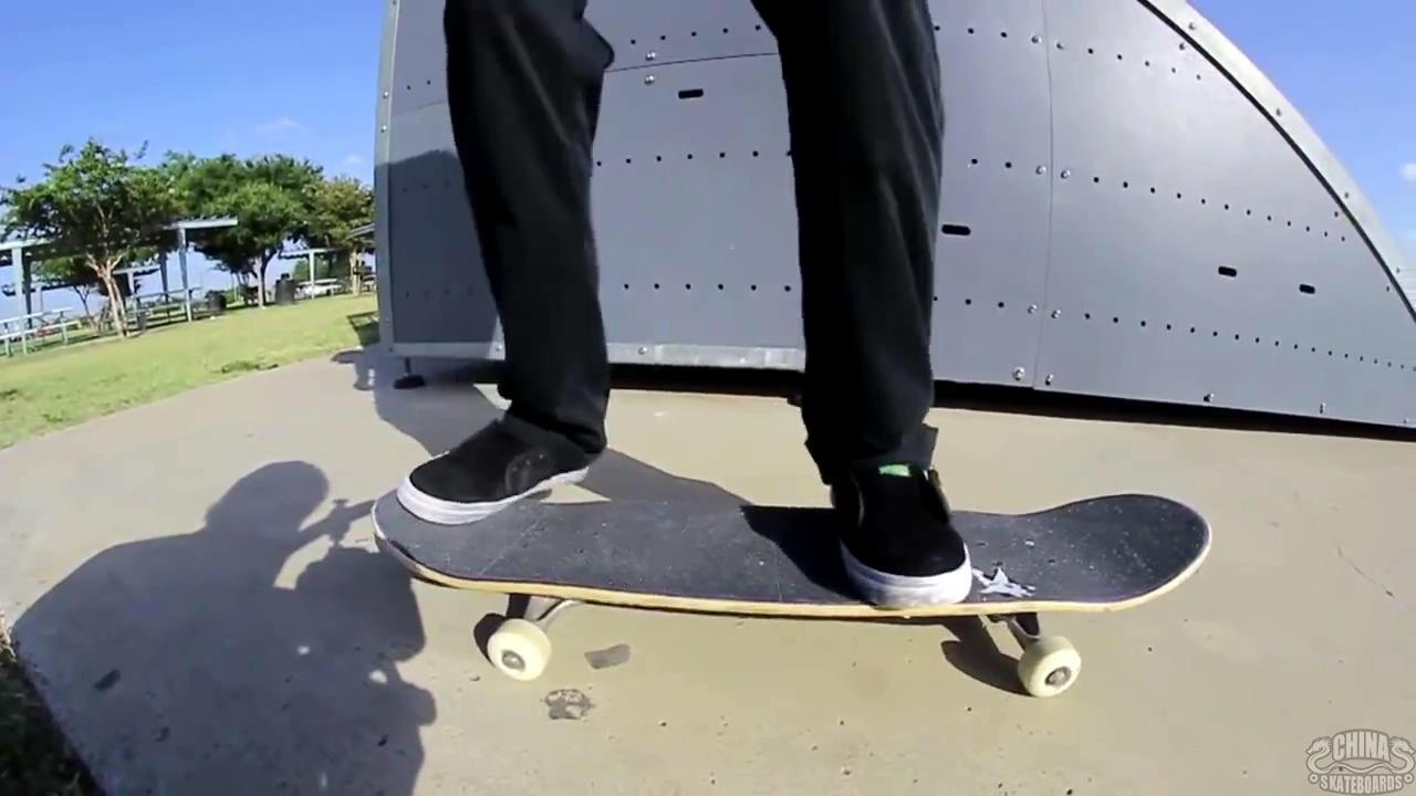 动作 滑板 教学 Frontside Bigspin  Mikey Whitehouse