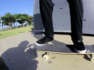 【滑板动作教学】 Frontside Bigspin -- Mikey Whitehouse