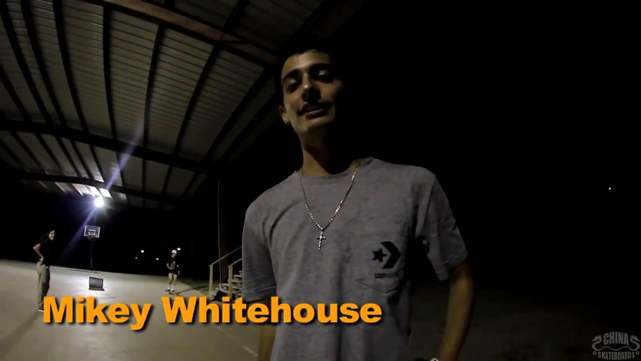 动作 滑板 教学 How to Cab  Mikey Whitehouse