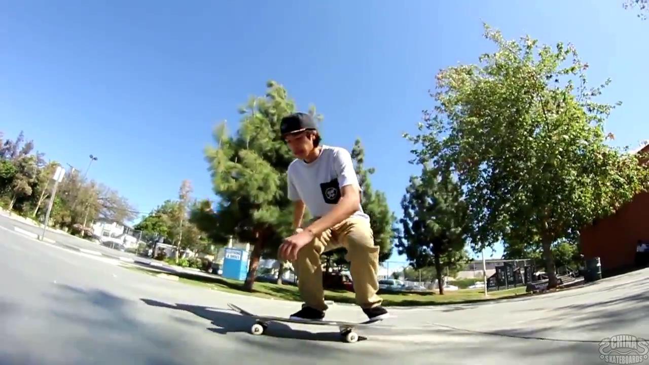 动作 滑板 教学 Alpha Flip Revert Chris Topherchann