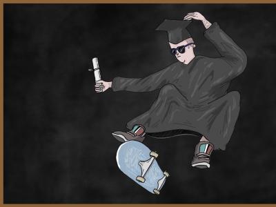 【滑板废观点】滑板学术研究下的滑板文化