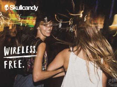 """Wireless Free """"无线""""自由 Skullcandy推出全新蓝牙无线耳机系列"""