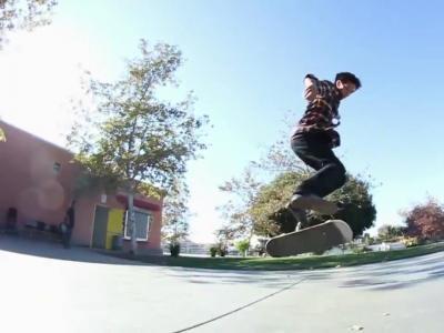 【滑板动作教学】Backside 360 Kickflip