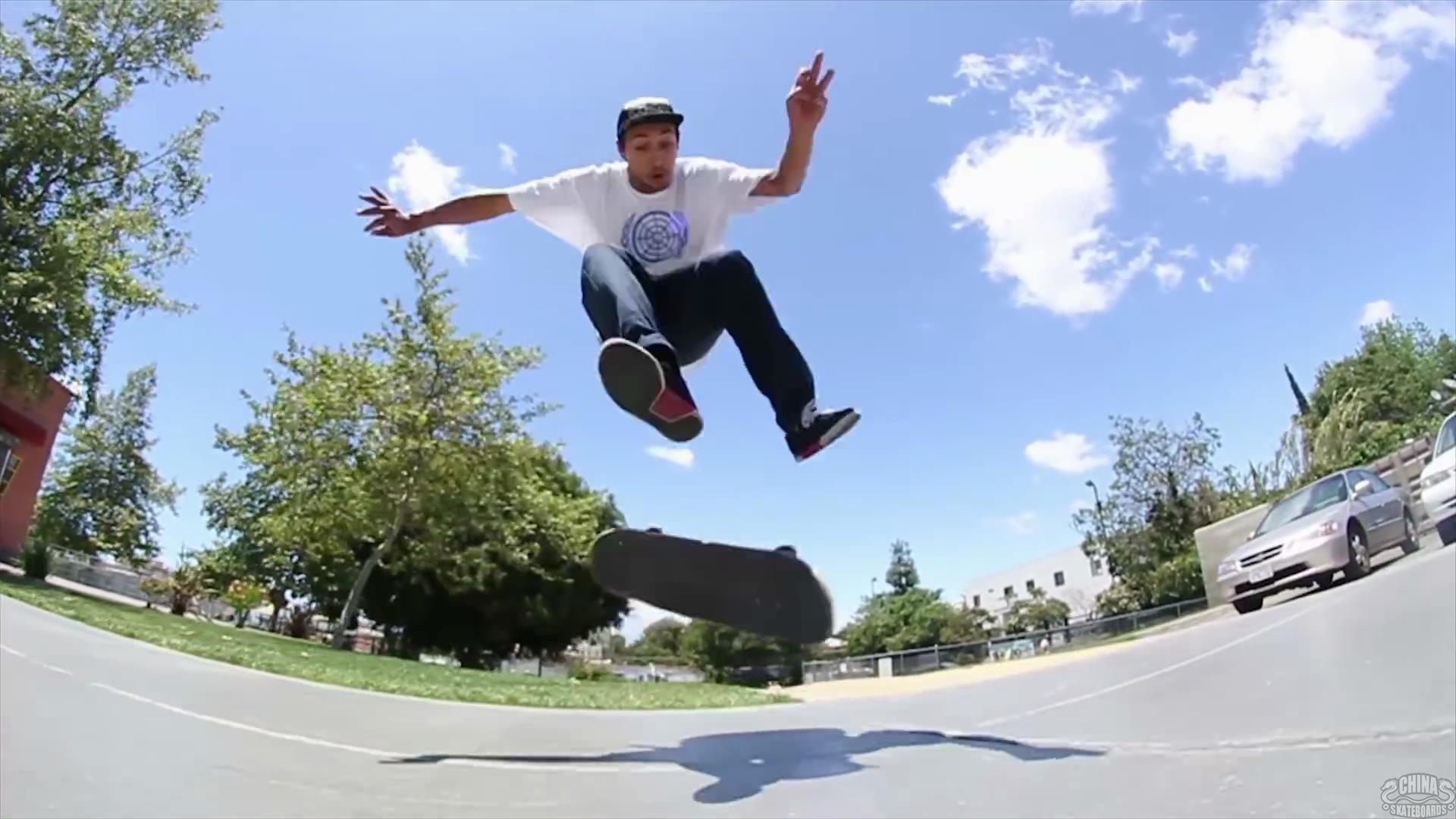 滑板 动作 教学 SWITCH 540 LASER FLIP Cody Cepeda Berrics SKATE