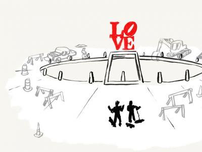 【滑板黑历史】美国Love Park板场的前生今世