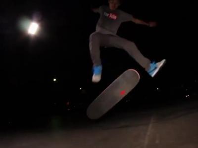 【滑板动作教学】Triple Kickflip