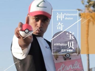 [中文字幕]全城火热:滑板神奇宝贝,来一场滑手Pokemon之旅