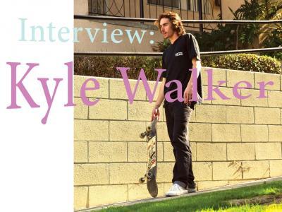 【盘问】刚出Vans最新签名款滑板鞋的Kyle Walker