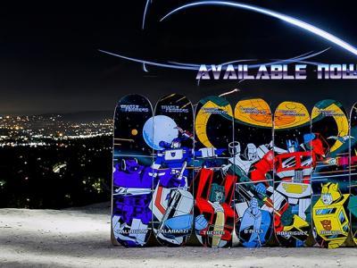 Primitve X Transformers 变形金刚系列板面正式发售