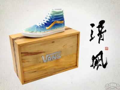 """【滑板文艺】""""中国风""""艺术家Panda-Mei呈现陶瓷版Vans滑板鞋"""