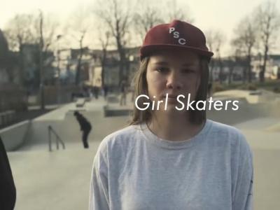 【板女动态】英国布莱顿超酷17岁滑板女孩——Josie Millard