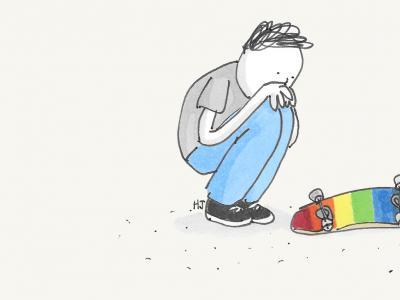 【滑板黑历史】天空中的彩虹,简单回顾滑板圈的出柜历史