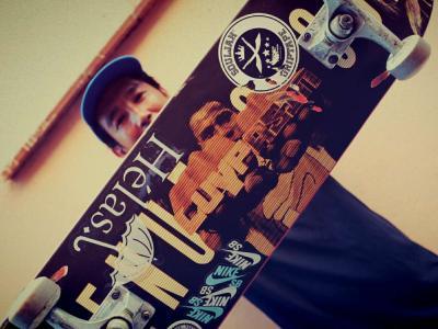 Helas:法国传奇滑手LUYPA SIN「Legend」系列特别签名款
