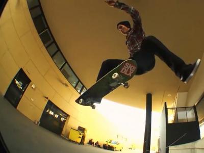 EMillion x Skatedeluxe 2017年合作Ben Dillinger签名款板面宣传影片