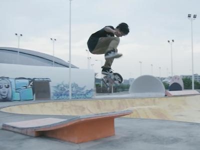 【WHATSUP WKND】#235  西安滑板兄弟高群翔&孙坤坤滑在广州GMP