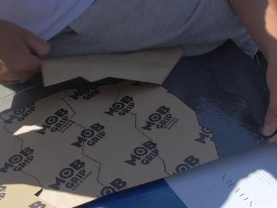 DIY滑手的福音-Mob蕾丝剪裁砂纸,Alex Midlerg上阵评测
