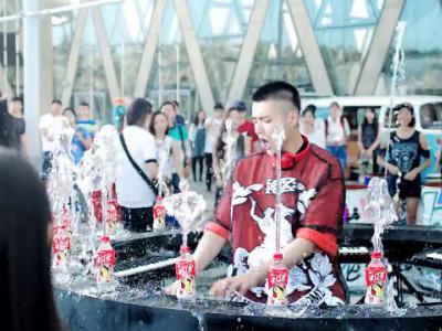 怪力滑板:吴亦凡统一冰红茶广告