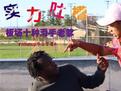 [中文字幕]实力吐槽:板场中常见的10种滑手老爹