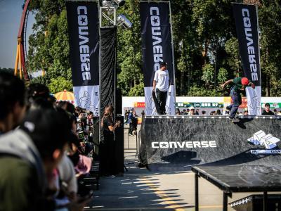 广州草莓音乐节 Converse 滑板 demo 及现金果酱赛回顾