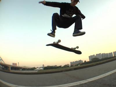 【WHATSUP Besttrick】#40-林森桢 Backside Kickflip