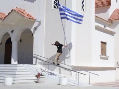 奥地利红牛:地中海的滑板圣地,希腊克里特群岛