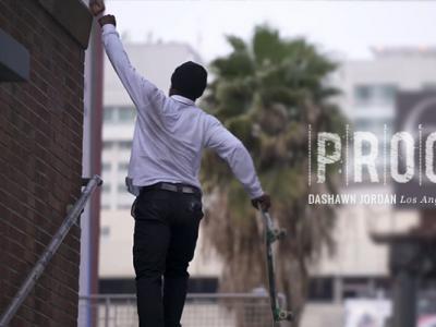励志:Dashawn Jordan好莱坞16级台阶挑战全过程