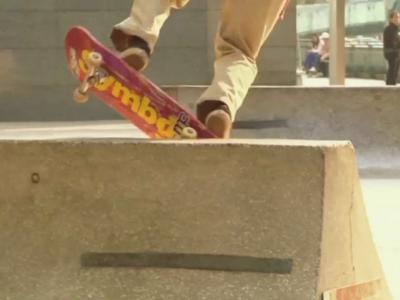 Symbolic滑手Dan Son滑板的一天