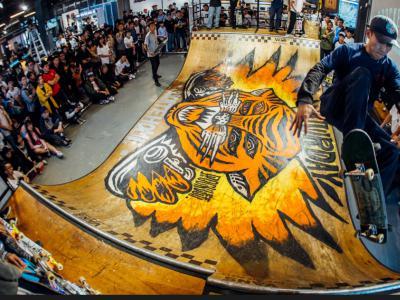 观澜Saturday滑板店VANS #CROCKETTPRO2#鞋测活动引爆深圳