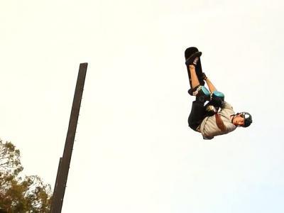 空中飞人Beaver Fleming-让滑板在空中飞一会儿!