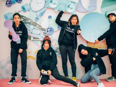 "Psychos美女队员全体出动-""亚洲女子运动与时尚展""完美闭幕"