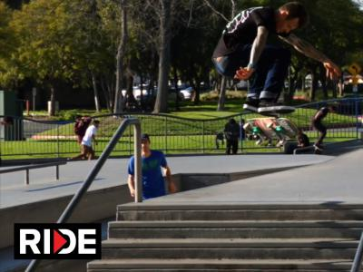 Blind Damn剪辑:和牙签哥Cody McEntire滑板的一天